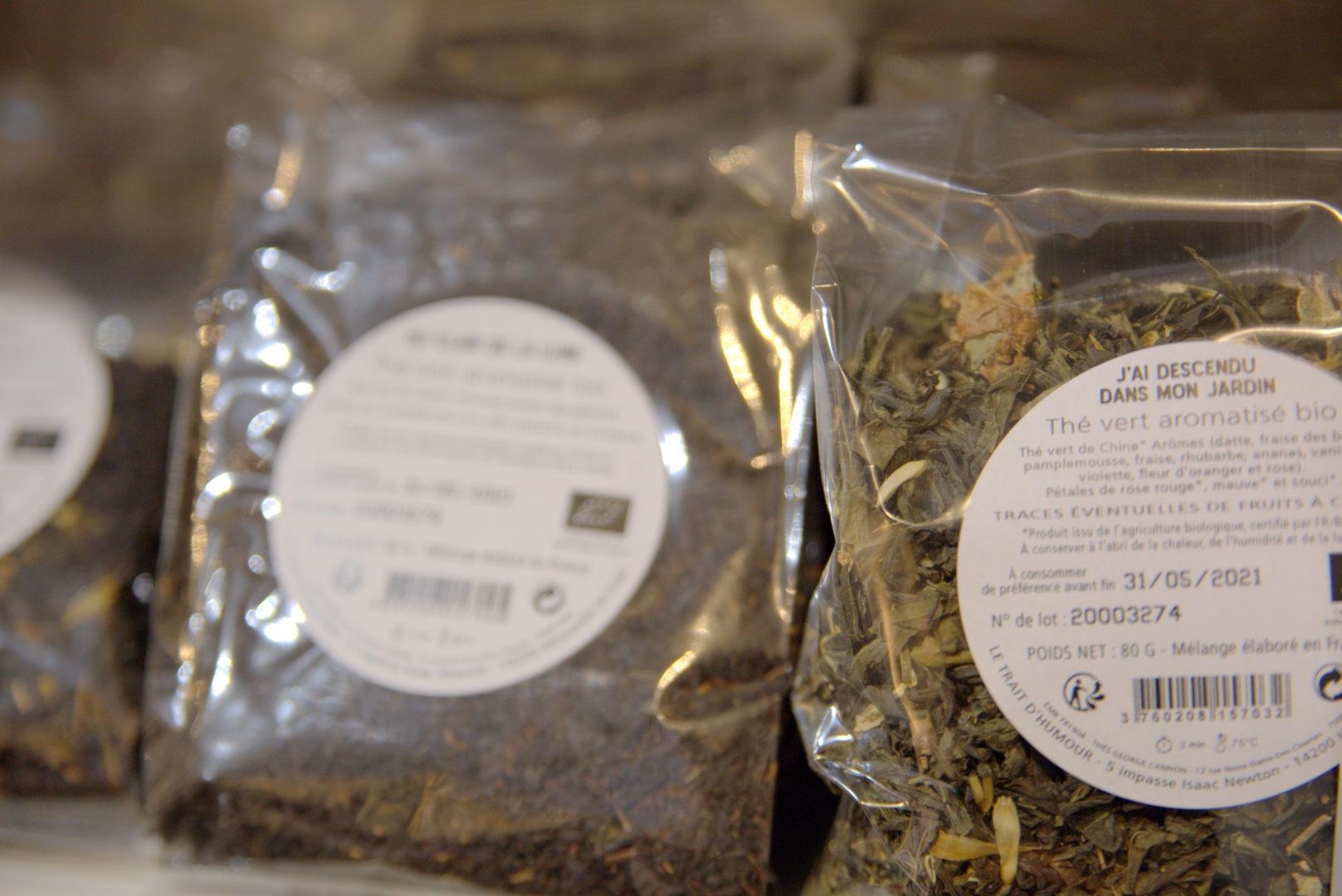 thé bio 2 - Gourmandises